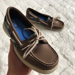 NWOT! Sperry women's brown leather shoes size 8